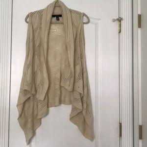Drapey Knit Vest